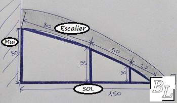 placard12 - Réaliser facilement un placard sous escalier - DIY