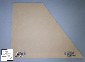 placard7 - Réaliser facilement un placard sous escalier - DIY