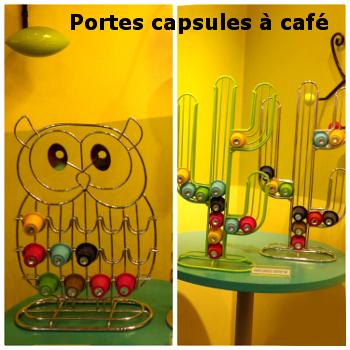 Pylones - Porte capsules à café