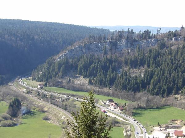 Vue de la vallée du Fort Malher