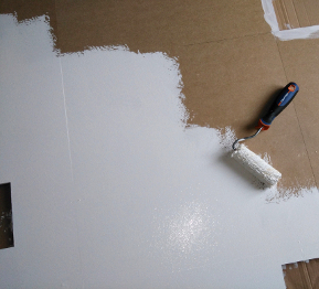 Mise en peinture de la structure