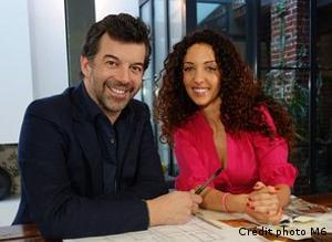 Stéphane PLAZA et Emmanuelle RIVASSOUX