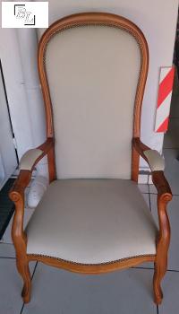 fauteuil1 - Restauration d'un fauteuil Voltaire - Tutoriel