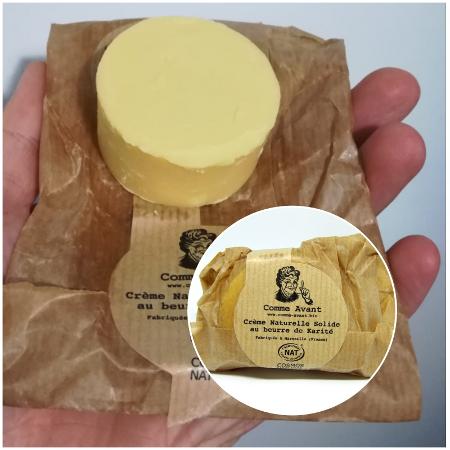 Crème au beurre de Karité