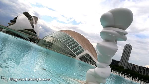 Cité des arts et des sciences Valence - Visiter Valence en 1 jour - Que faire et voir ?