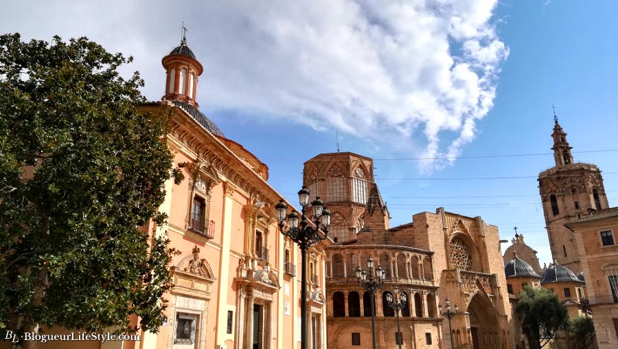 Place de la vierge Valence / Plaza de la virgen Valencia