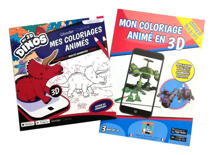 Wonder Coloring Le Coloriage Animé En 3d