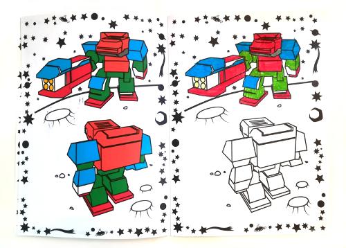 wonder coloring 2 - Wonder Coloring - Le coloriage animé en 3D