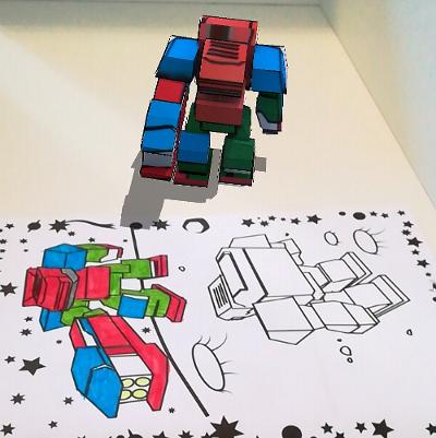 wonder coloring 3 - Wonder Coloring - Le coloriage animé en 3D