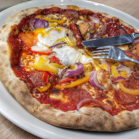 Vapiano - Pizza cannibale