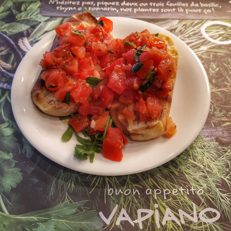 Vapiano - bruschetta