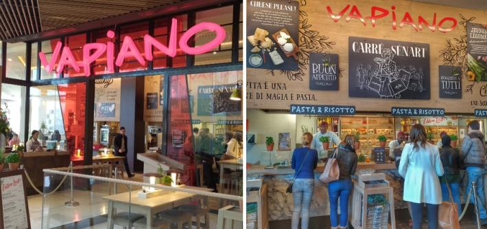 vapiano 1 710x335 - Les restaurants italien VAPIANO - Avis