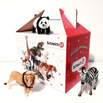 Boite Anniversaire Schleich e1581197465505 - Schleich - La marque de figurines animalières