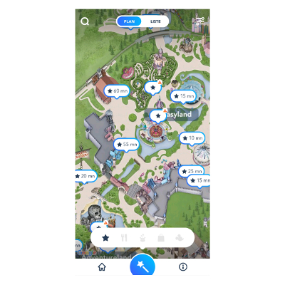 Application Disneyland Paris - Disneyland Paris - Des astuces pour faire un maximum d'attractions