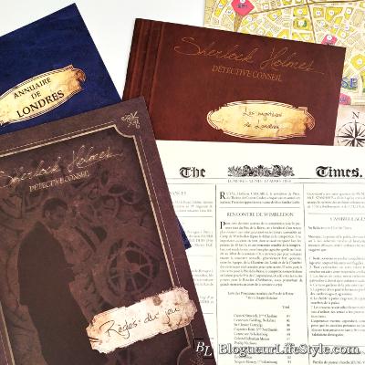 Sherlock Holmes Detective Conseil - Sélection de jeux de société originaux à découvrir
