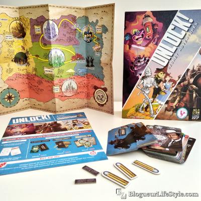 Unlok - Sélection de jeux de société originaux à découvrir