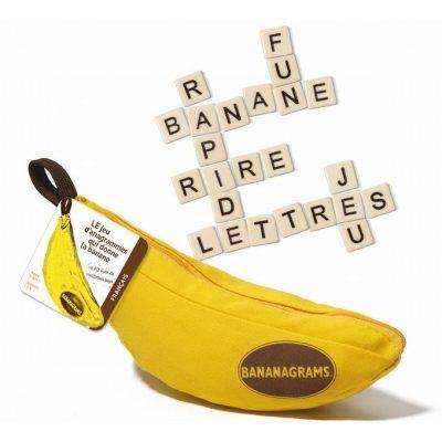 Jeu Bananagrams e1608213996135 - Ma sélection d'idées de cadeaux de Noël pour enfants et ados