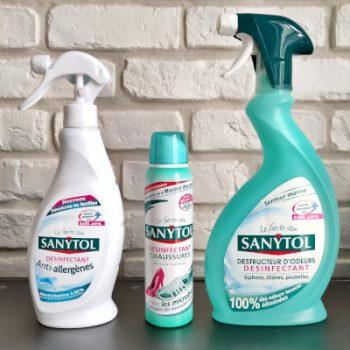 SANYTOL Sprays e1623233209744 - Sanytol : Des produits nettoyants / désinfectants efficaces ? - Avis