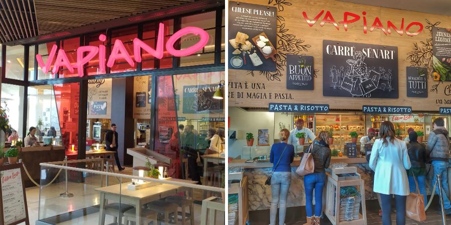 vapiano 1 - Les restaurants italien VAPIANO - Avis