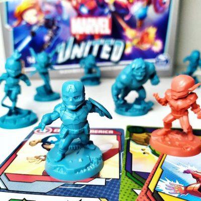 Jeu Marvel United Figurines e1608216741330 - Ma sélection d'idées de cadeaux de Noël pour enfants et ados