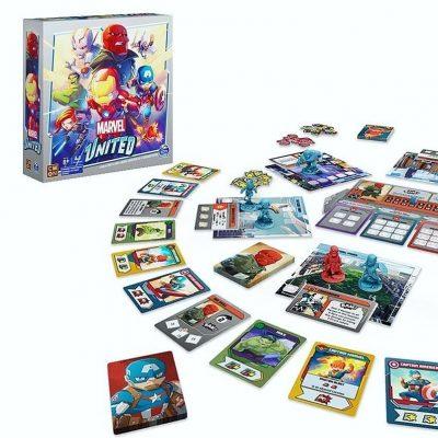 Jeu Marvel United e1608216719821 - Ma sélection d'idées de cadeaux de Noël pour enfants et ados